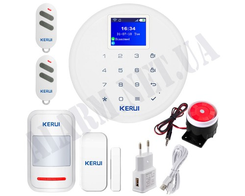 GSM + WIFI Сигнализация KERUI KR-W17