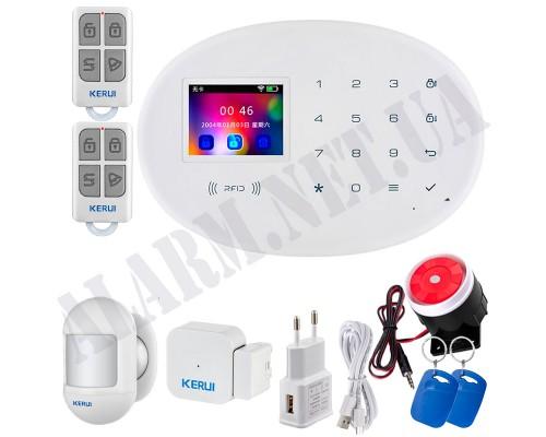 GSM + WIFI Сигнализация KERUI KR-W20